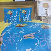 Полуторное постельное белье Спанч Боб