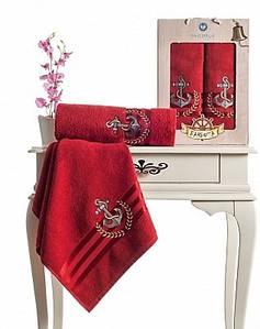 Набор полотенец в подарочной упаковке 2 в 1