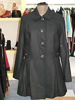 Черное итальянское полупальто, фото 1
