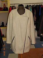 Светлое пальто из пушистой шерсти Bonprix