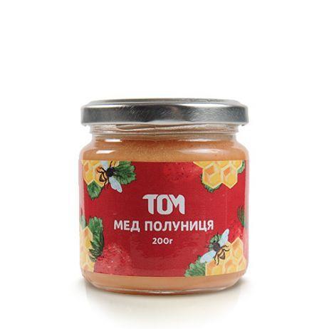 Мед натуральний ТОМУ - Полуниця (200 грам)