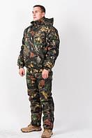 Униформа камуфляжная, зимняя для охоты и рыбалки Темный клен