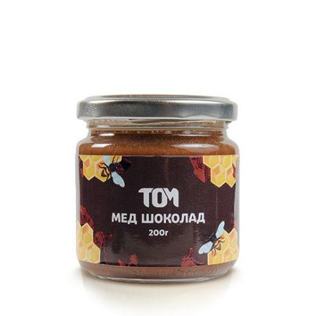 Мед натуральный ТОМ - Шоколад (200 грамм)