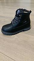 Ботинки зимние для мальчика, Clibee, чёрные, размер 32,33,34,35,36