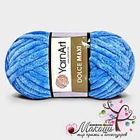 Пряжа Ярнарт Дольче Макси Dolce Maxi, 777, синяя бирюза