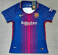 Женская Футболка Барселонасезон 2017-2018 (гранатовая), фото 1