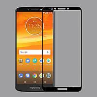Защитное стекло Motorola Moto E5 Plus / XT1924-1 Full cover черный 0,26мм в упаковке
