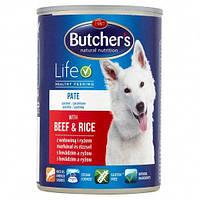 Butcher's Natural Nutrition 390гр*6шт-консервы для собак (в ассортименте)