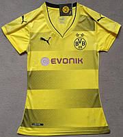 Женская Футболка Боруссия Дортмунд сезон 2017-2018 (желтая), фото 1