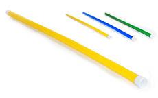 Палка гимнастическая пластиковая 110 см