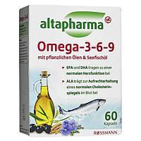 Биологически активная добавка Altapharma Omega - 3-6-9, 60 кап.