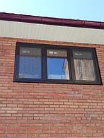 Ламинированные окна Киев, ул. Ушинского