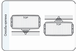 Фара дальнего света 182х86х81 мм Wesem HP4.18479 хром с решеткой , фото 5