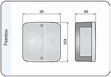 Блок-фара задняя Wesem Lt1.06727 4-х функциональная 98x103x50 , фото 4