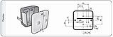 Блок-фара задняя Wesem Lt1.06727 4-х функциональная 98x103x50 , фото 5