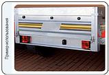 Блок-фара задняя Wesem Lt1.06727 4-х функциональная 98x103x50 , фото 2
