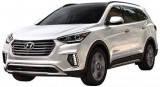 Подножки боковые для Hyundai Santa Fe (2017-...)
