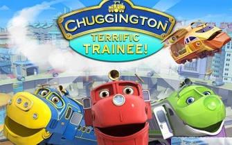 Паровозики из мультфильма Chuggington
