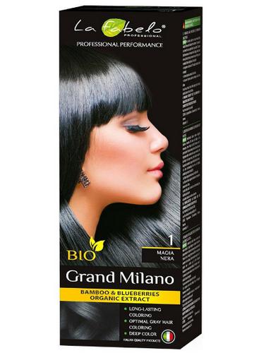 "La Fabelo Professional крем-краска для волос BIO Grand Milano 100 мл ""тон № 1"""
