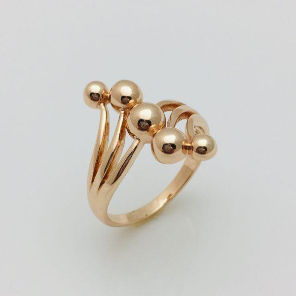 Кольцо Ласка, размер 17, 18, 19, 20 ювелирная бижутерия