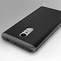 Чехол-накладка IPAKY PC+TPU для XIAOMI Redmi Note 4 Grey