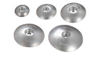 Анод цинковий диск для пера керма 140 мм