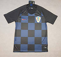 Футболка сборной Хорватии сезон 2018 (черно-синяя), фото 1