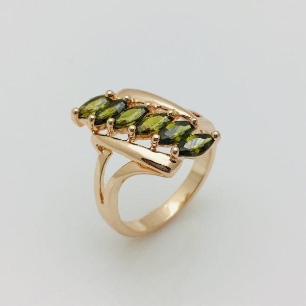 Кольцо Дорожка, размер 17   ювелирная бижутерия