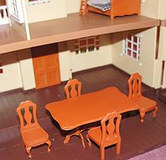 """Набір меблів """"Happy Family"""" Стіл і чотири стільці. 012-01B, фото 2"""