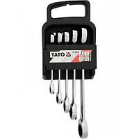 Набор ключей накидных М = 8-19 мм, YATO YT-5038