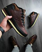 """Зимние кроссовки на меху New Balance 754 """"Dark Brown"""" (Коричневые), фото 3"""