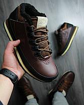 """Зимние кроссовки на меху New Balance 754 """"Dark Brown"""" (Коричневые), фото 2"""