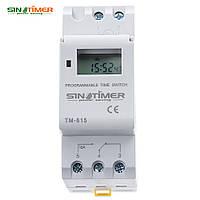 Sinotimer TM-615 реле времени универсальное на DIN рейку таймер недельный
