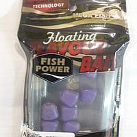 Плавающая силиконовая приманка кукуруза с ароматом шелковицы. Fish Power. flavour floating bait