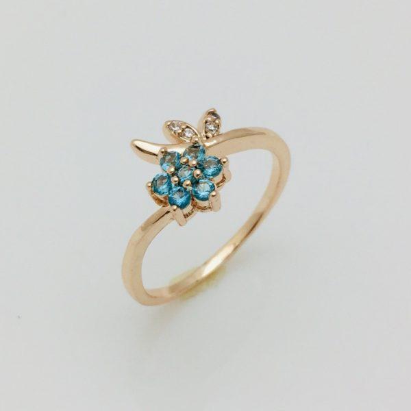 Кольцо, размер 17. 18, 19 ювелирная бижутерия