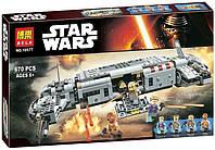 Конструктор Bela 10577 Star Wars Стар Варс Военный транспорт Сопротивления 670 деталей, фото 1