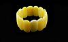 "Браслет из  янтарной смолы  ""Изюминка""желтый"