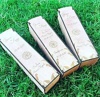 Деревянная подарочная упаковка, коробка, футляр, ящик для бутылки вина с Вашей гравировкой