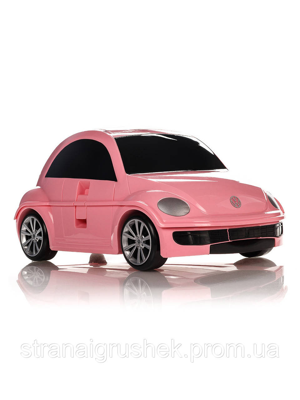 Детский чемодан на колесиках Ridaz Volkswagen Beetle розовый (91003W-PINK) 177dbdc6ea6