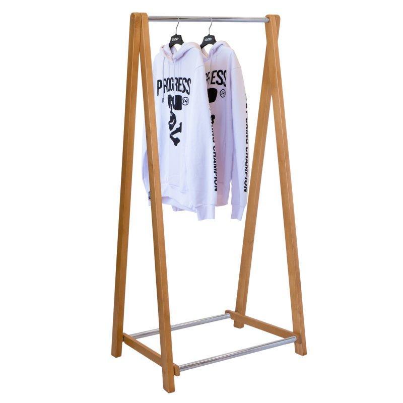 Стойка для одежды Модус 2 (дерево/металл)