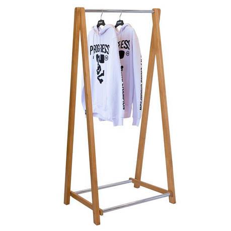 Стойка для одежды Модус 2 (дерево/металл), фото 2