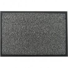Коврик полипропиленовый на основе ПВХ с ворсом, серый 120*180см