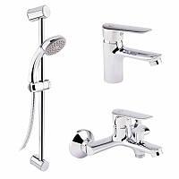 Набор смесителей для ванны Q-tap Set CRM 35-211