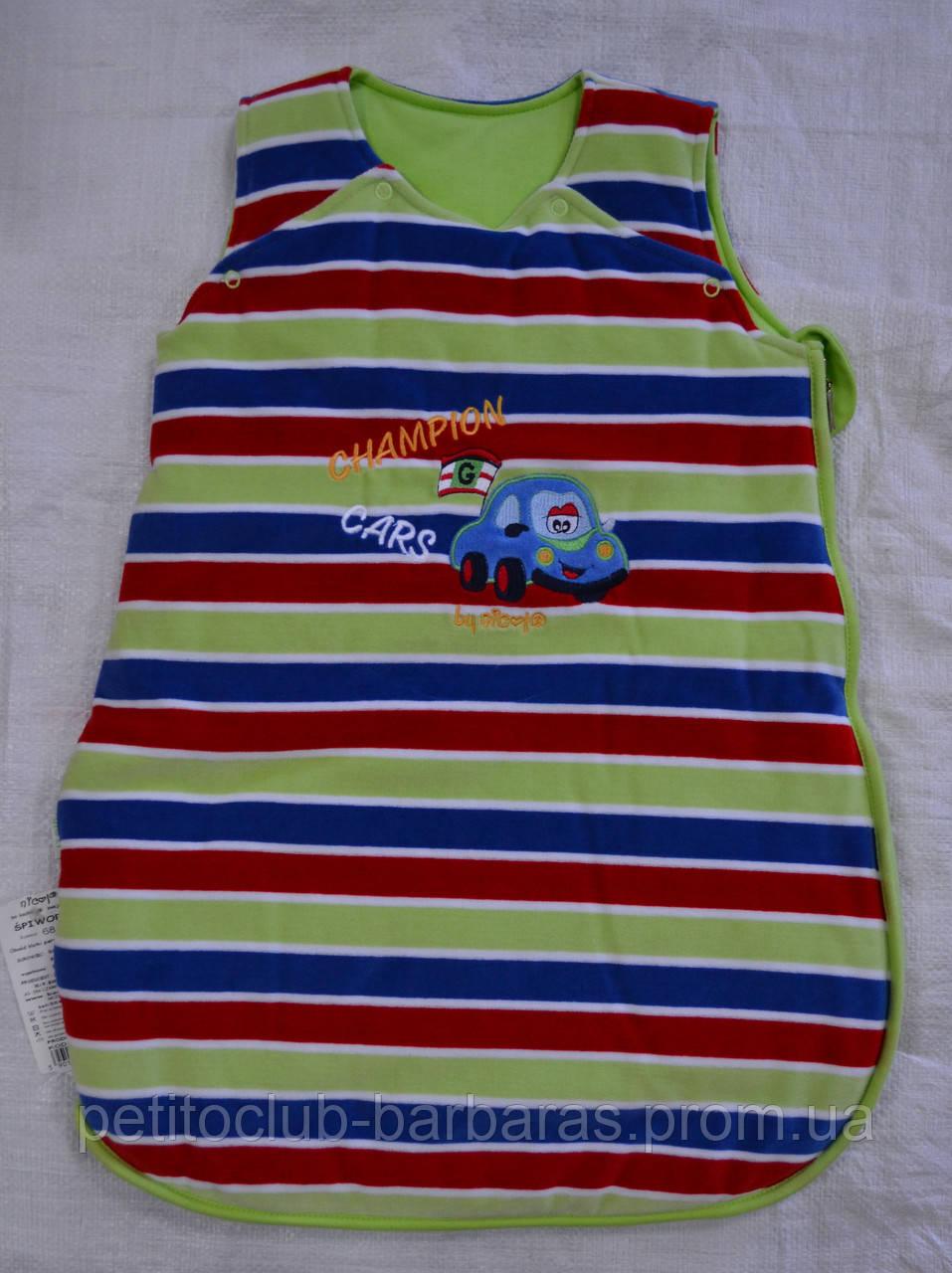 Спальный мешок Champion Cars для мальчика (Nicol, Польша)