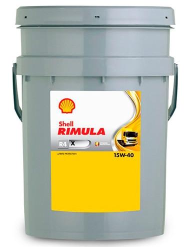 Shell Rimula R4 X 15W-40 20л