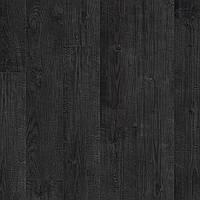 Ламинат Quick-Step Impressive IM1862 Доска опаленная - Дуб черная ночь