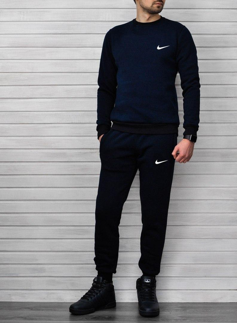 cbe205ff Спортивный костюм Nike (штаны+свитшот) УТЕПЛЕННЫЙ: продажа, цена в ...