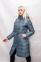 Женский зимний пуховик куртка парка классика длинный
