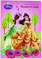 Цветная бумага (двухсторонняя) А4 KITE 2013 Princess 250