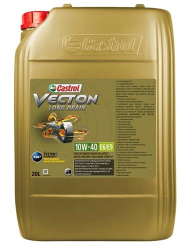 Castrol Vecton Long Drain 10W-40 E6/E9 20л